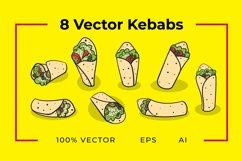 8 Kebab Vectors Product Image 1