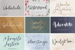 Handwritten 50 Fonts | All Collection Bundle Product Image 5