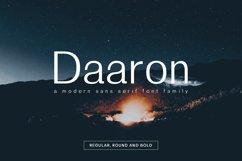 Daaron Sans Serif Font Family Product Image 1