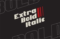 Be Bold italic modern Product Image 3