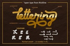 Thickline - Classic Bold Font Product Image 5