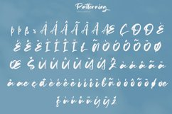 Patterning | Modern Calligraphy Font Product Image 5