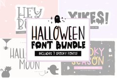 Font Bundle - Handwritten Fonts for Crafters - Halloween Product Image 1
