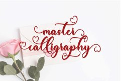 My heart script font Product Image 3