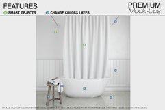 Bath Curtain Mockup Pack Product Image 2