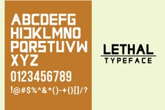 Lethal Markwell Duo Font Product Image 2