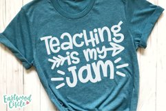 Teacher Shirt SVG Bundle - Back to School Cut Files Product Image 5