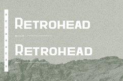 Retrohead Typeface | Font Product Image 2