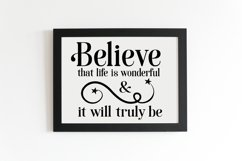 Inspirational Quote Bundle, Positive Sayings Cut Files Product Image 4