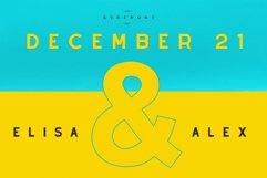 Alyssum - Sans Serif Font Product Image 3