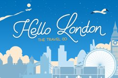 Holiday Travel Font Duo Product Image 5
