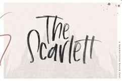The Scarlett - A Handwritten Brush Font Product Image 1
