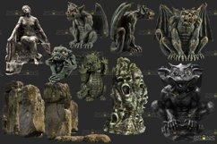 39 Halloween overlay & Ghost Clipart Photoshop overlay Product Image 6