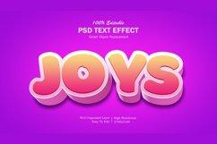3D Joys Text Effect Product Image 1