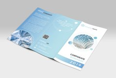 Corporate Trifold Brochure Product Image 3