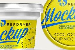 200G YOGURT CUP MOCKUP Product Image 4