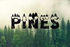 Forest Outdoors Font Product Image 5