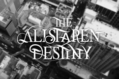 The Alistaren Font Product Image 2