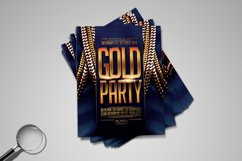 Gold Party | Urban Flyer Template Product Image 4