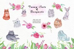 Funny Cats & Bouquets Product Image 4
