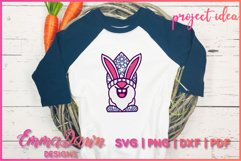 3D LAYERED EASTER BUNNY GNOME SVG, 3D SVG, 7 LAYERS Product Image 5