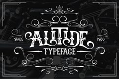 ALITIDE Typeface Product Image 1