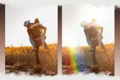 Rainbow overlays & textures, rainbow action, rainbow preset Product Image 2