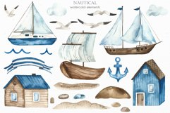 Nautical watercolor collection Product Image 7