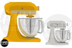 Baking clipart, cooking clipart, Mixers, graphics AMB-2800 Product Image 2