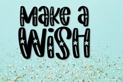 Web Font Starwish - A Shooting Star Font Product Image 2