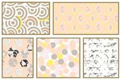 Pastel Geometric Patterns Product Image 5