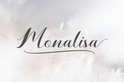 Monalisa // Script Calligraphy Product Image 1