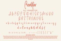 Creditor - Monoline Signature Font Product Image 4