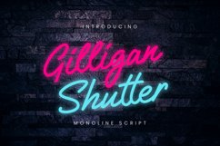 Gilligan Shutter Monoline Product Image 1