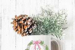 Christmas Holiday Wreath Designs with Gnomes and Mice Product Image 2