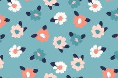 9 floral abstract seamless patterns. Product Image 3