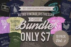 Retro Vintage T-Shirt Designs 10 Pack Vol. 2 Product Image 1