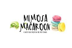 Mimosa Macaroon Product Image 1