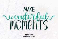 Make Wonderful Moments - Duo Font Product Image 1