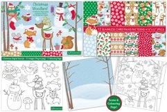 Christmas bundle, Christmas clipart graphics & illustrations Product Image 3