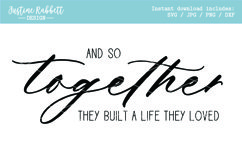 And so together they built a life they loved Product Image 1