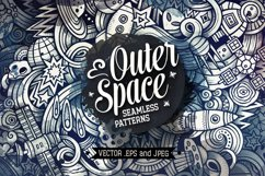 Space Graphics Doodle Patterns Product Image 1