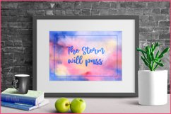 Watercolor Backgrounds, Sublimation Watercolor Texture PNG Product Image 3