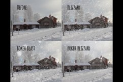 Realistic falling snow overlays Product Image 3