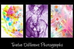 12 Bubble Rainbow Unicorn Photography Backgrounds Product Image 3