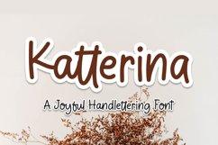 Katterina - Joyful Handlettering Font Product Image 1