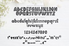 Flower Hand Drawn display Font Product Image 4