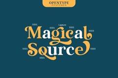 Magical Source - Stylish serif font Product Image 3