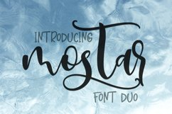 Mostar Font Duo Product Image 1
