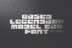 Lorean Awesome Font Product Image 5